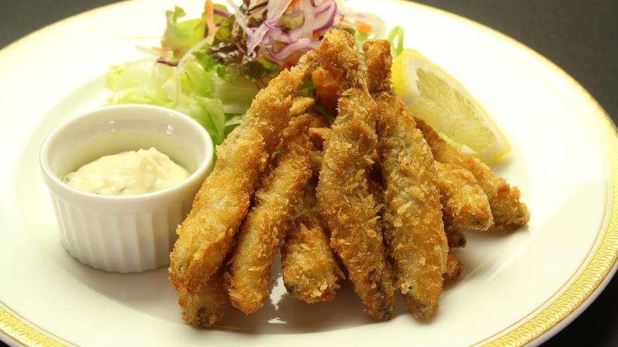 ◆【ディナー料理・単品】ワカサギのフライ