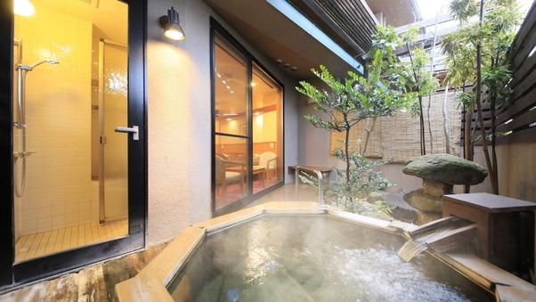 【露天風呂付き】洋間11畳+和室3畳<禁煙>
