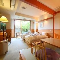 ◆露天風呂付客室/洋室11畳+和室3畳(露天風呂付き) ※一例