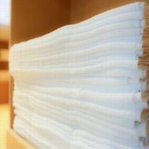 ◆大浴場には、常にバスタオルが置いてあるので、お部屋から手ぶらでお越し下さいませ。