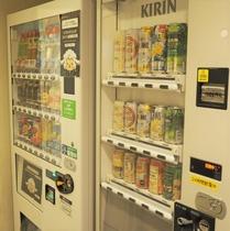 【館内設備】本館側ドリンク自動販売機