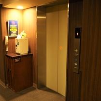 別館エレベーターホール