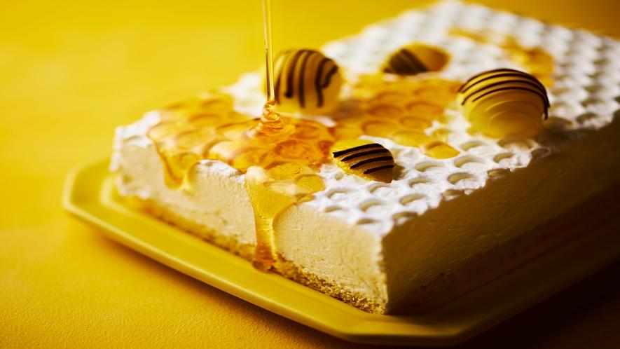 【Happy Yellow Hunt】蜂蜜レアチーズ