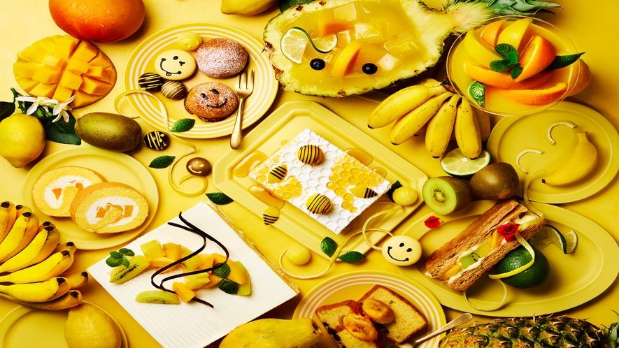 ランチ&デザートブッフェ【Happy Yellow Hunt】
