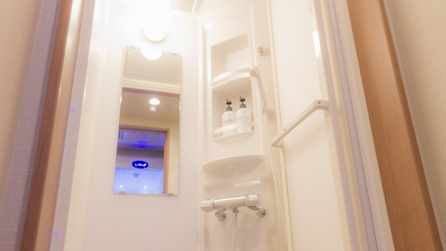 【カプセルルーム】シャワールームでさっぱりした後は、ぐっすりお休みください♪