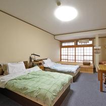 ◆和洋室◆足腰の不自由な方も利用し易いベッドタイプ。※和室・洋室はお選び頂けません。予めご了承下さい