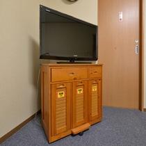 *テレビの中に備品を備えておりますので、ご自由にお使い下さい。