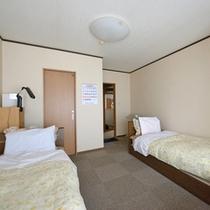 ◆ツイン◆足腰の不自由な方も利用し易いベッドタイプ。※和室・洋室はお選び頂けません。予めご了承下さい