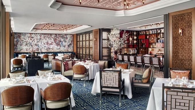 【中国料理「香桃」ディナー付】モダン広東料理と中国茶の愉しみ<クラブフロア>