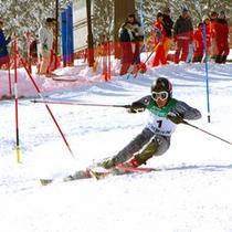 *関温泉スキー場