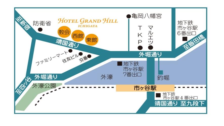 ホテル地図