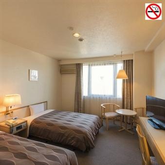【禁煙】ツインルーム・余裕の22.5平米♪ゆったり寛げます