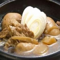 山形名物の芋煮/体も心もほっこりする一品※季節により「いも煮」のご提供が無い場合がございます。