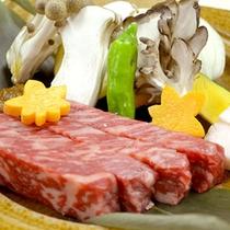 味噌焼きステーキ /濃厚な旨みの山形牛を味噌焼きで!