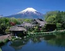 忍野八海☆富士山絶景スポット・おそばやお団子のお店あり♪
