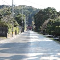 高山やぶさめ祭りのメインストリートです