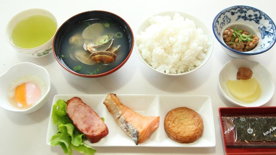 *【朝食】女将手作りの日替わり朝食をご用意致します。