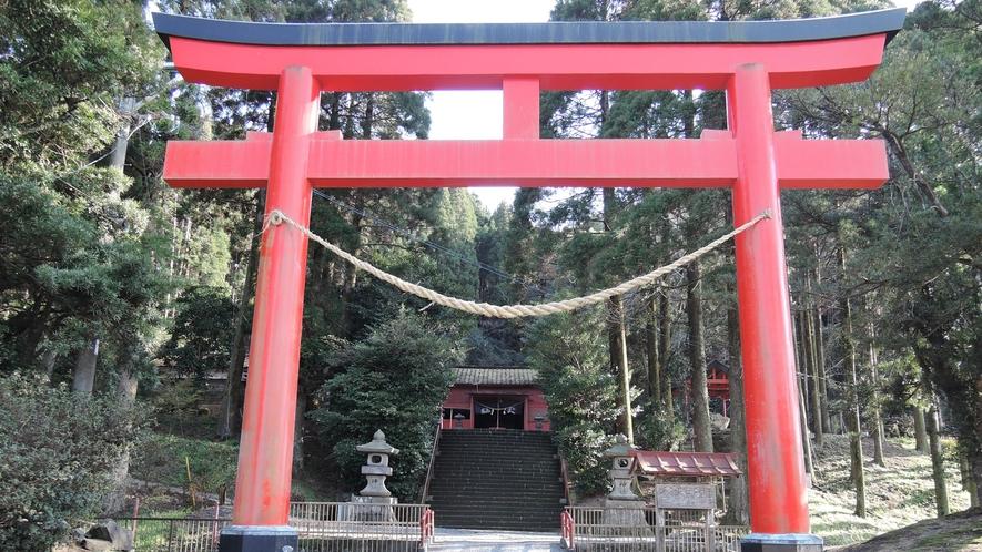 *四十九所神社(しじゅうくしょじんじゃ)/流鏑馬が行われる神社です