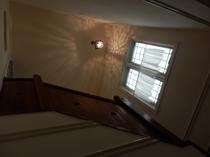 階段天井部分