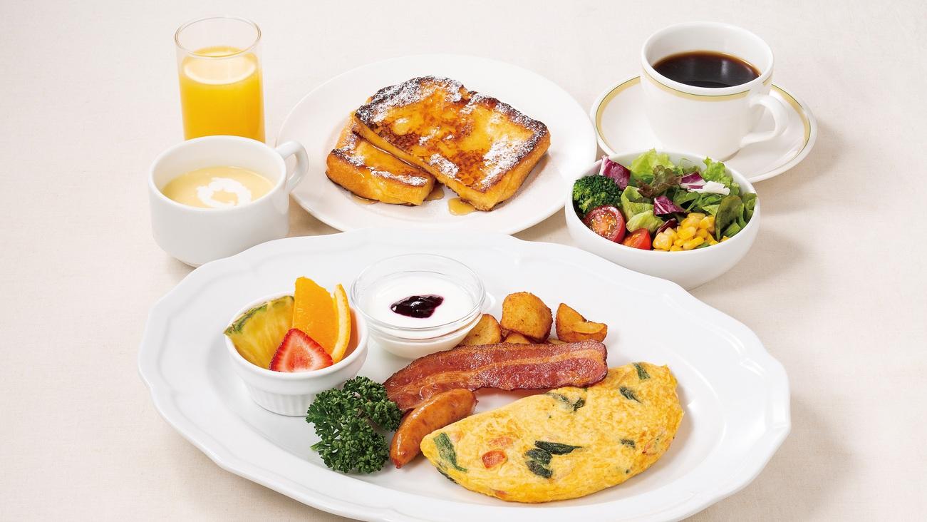 いねや洋風朝食〜フレンチトースト〜