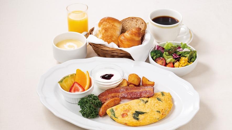いねや洋風朝食~パン盛り合わせ~