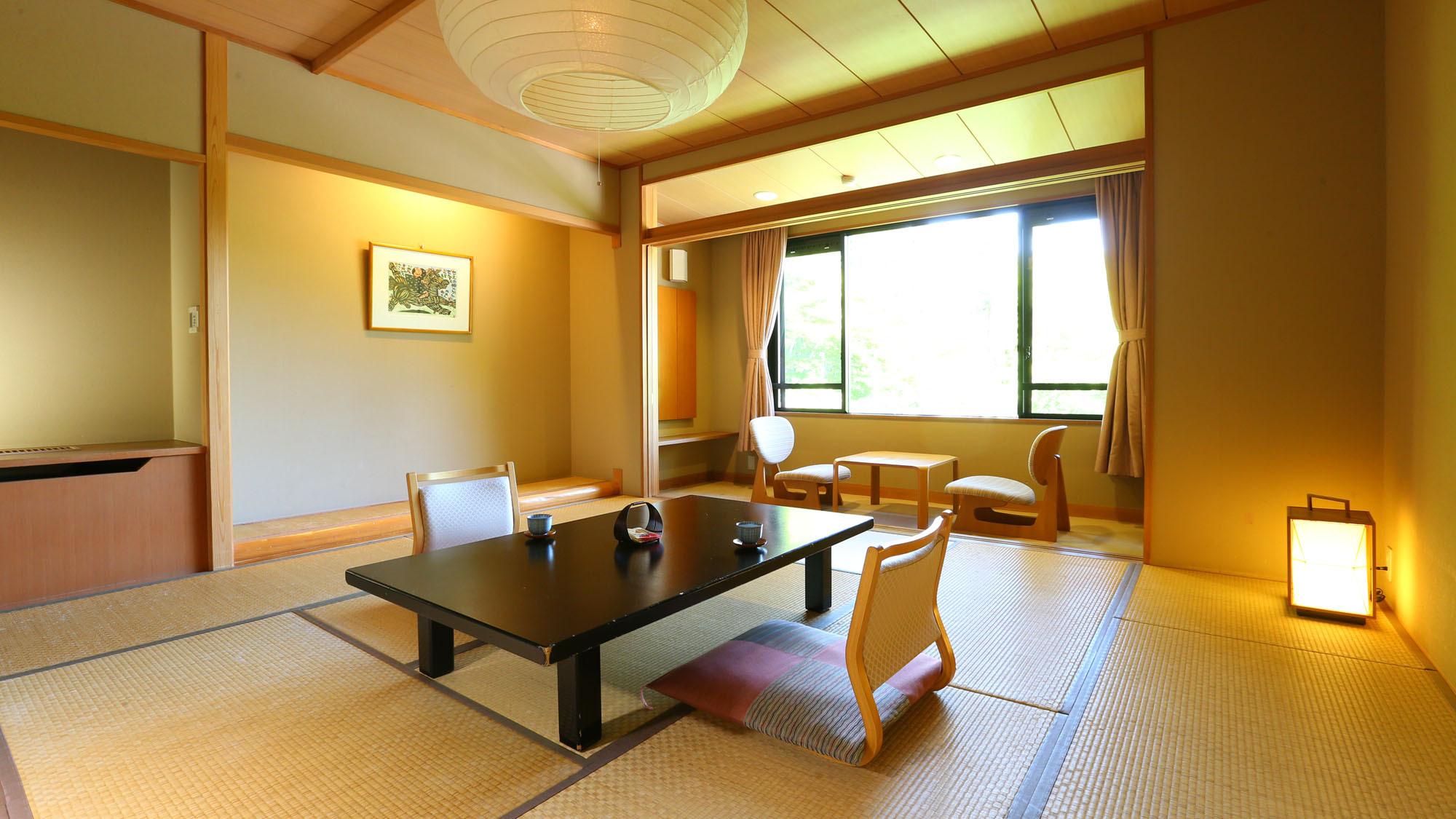 【新館■和室10〜12.5畳】ゆったり寛げる広々としたお部屋です