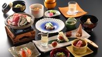 【夕食一例】心温まる郷土料理