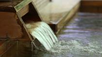 【温泉】透明のさらりとしたお湯です