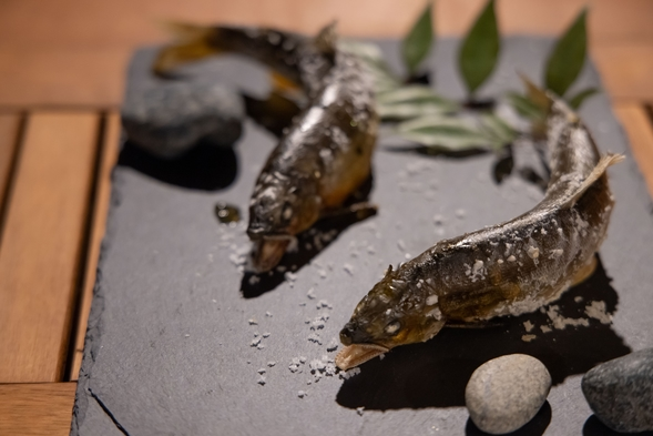 【夕食はBBQ!一泊夕食付プラン】すべて天然もの、四万十川の幸BBQセット
