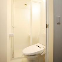 全室ウォシュレットトイレ完備。