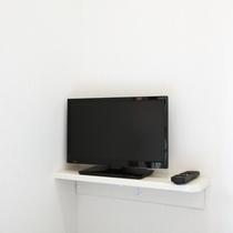 全室液晶テレビ完備。Wifiも全室対応しております。