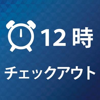 【12時チェックアウト】ゆっくり朝をすごしたいあなたへ♪ 男女別大浴場・露天風呂 【素泊まり】