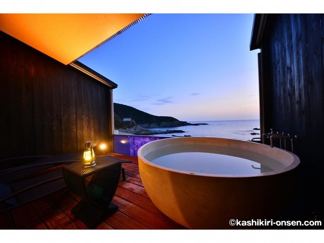 シーサイドウイングウエスタンスタイル客室露天風呂