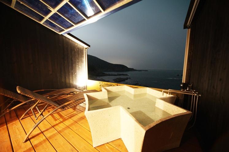 シーサイドウイングウェスタンスタイルX型の浴槽