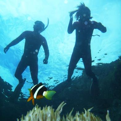【シュノーケリングツアー☆青の洞窟体験】沖縄で人気ブルーホールを体感