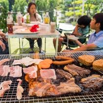*[BBQ一例]みんなでお外で食事を楽しむ!それがBBQの醍醐味!!
