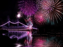 川開き観光祭の花火