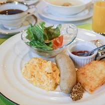 *【お料理】朝食一例。