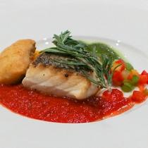 *【お料理】旬のお魚~夕食の一例になります。