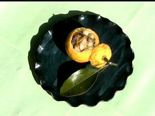 酢ナマコの柚子釜