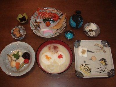 京風おせち料理。