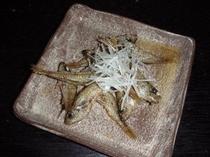 ムツコ南蛮漬け(白髪ネギ添え)