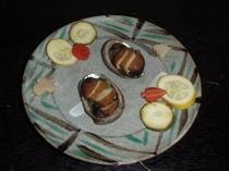 トコブシ(ナガレコ)燻製(追加注文料理)