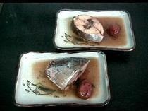 スマカツオの梅煮