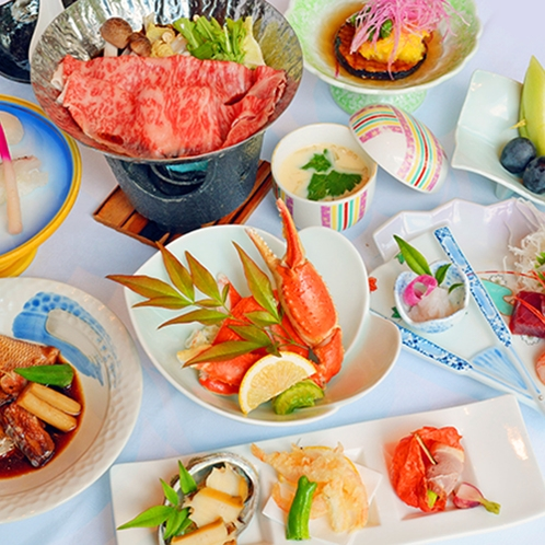 富山の海の幸山の幸が味わえる会席料理