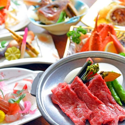 四季折々の旬な食材を楽しめる会席料理