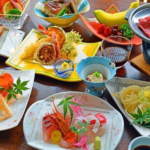 富山の旬をたっぷり盛り込んだ会席料理