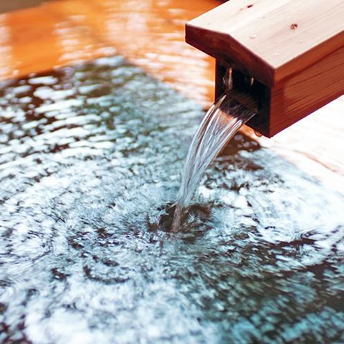 100%源泉かけ流しの開湯1300年の古湯