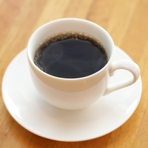 【朝食バイキング】食後に温かいコーヒーもご用意しております。
