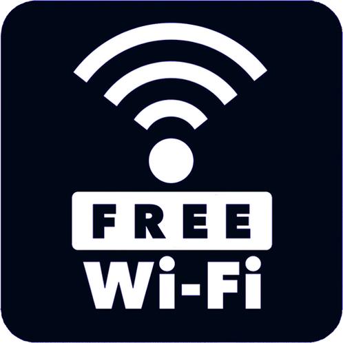 全客室にて無料でWi-Fiがご利用いただけます